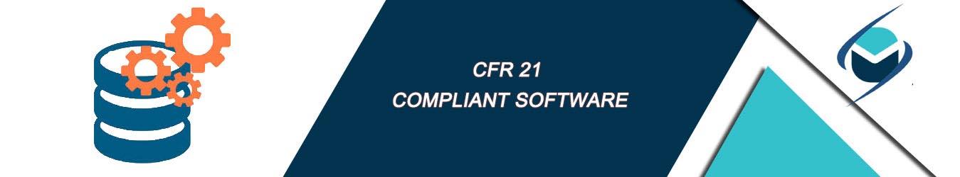 cfr 21 compliant software