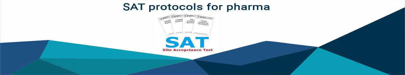 SAT protocols for pharma