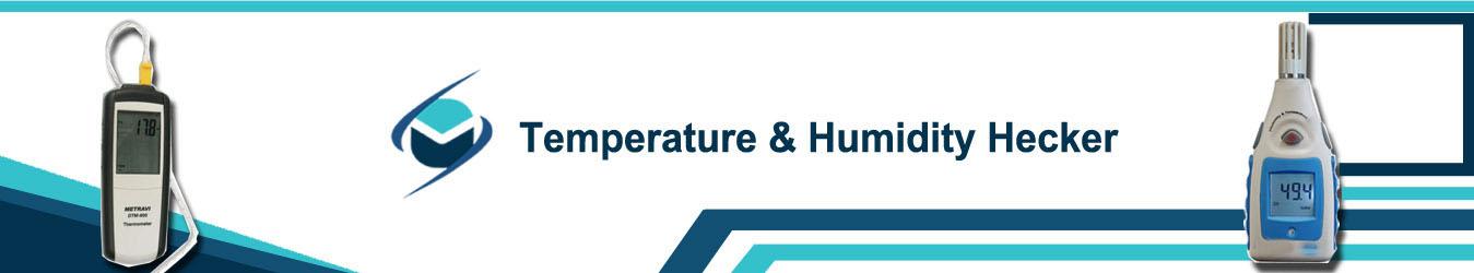 temperature and humidity checker