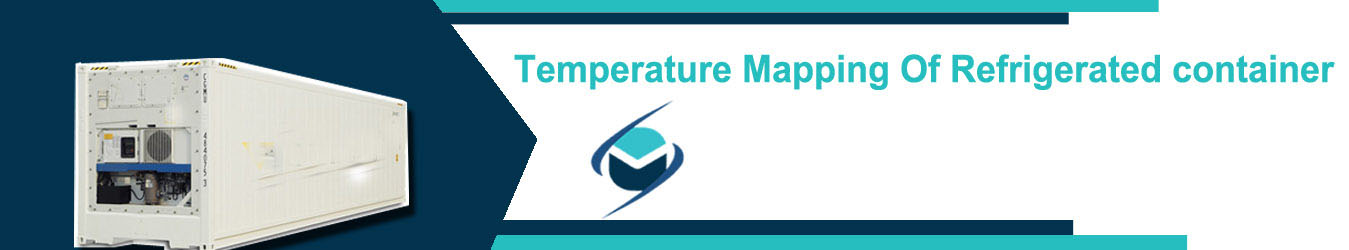 temperature mapping of refrigerated container