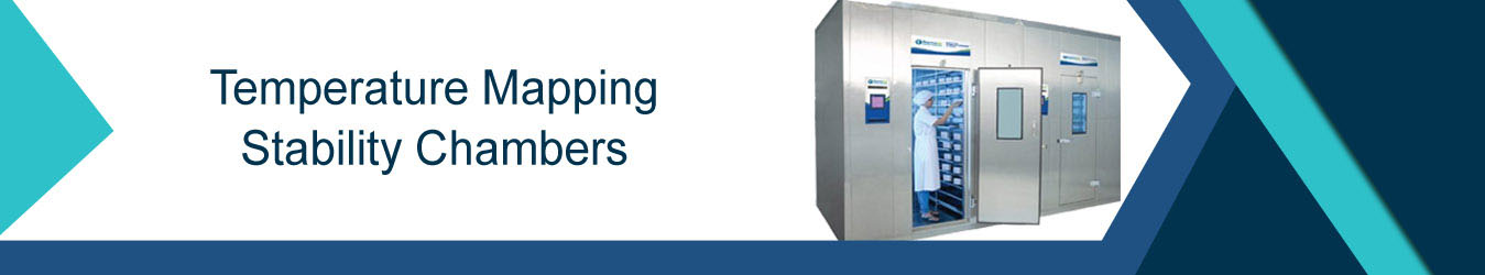 Temperature mapping Stability chambers