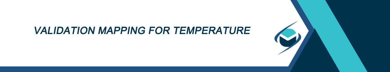 Validation mapping for temperature