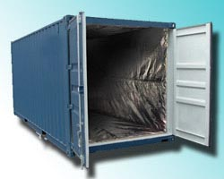 insulated shipping container temperature mapping