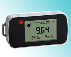portable data logger mapping