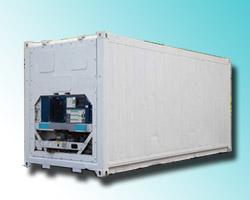 refrigerated container temperature mapping