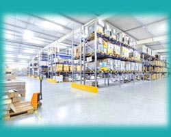 Temperature mapping in pharmaceutical warehouse