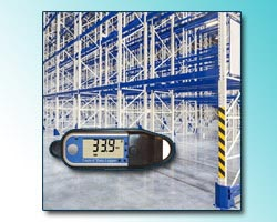 warehouse mapping with data logger
